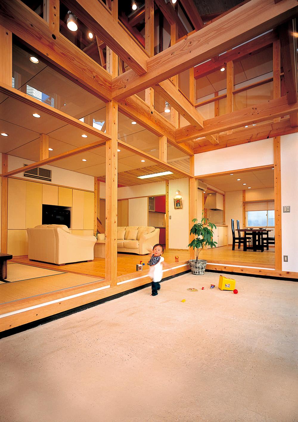 雨楽な家 旧広島モデルハウス