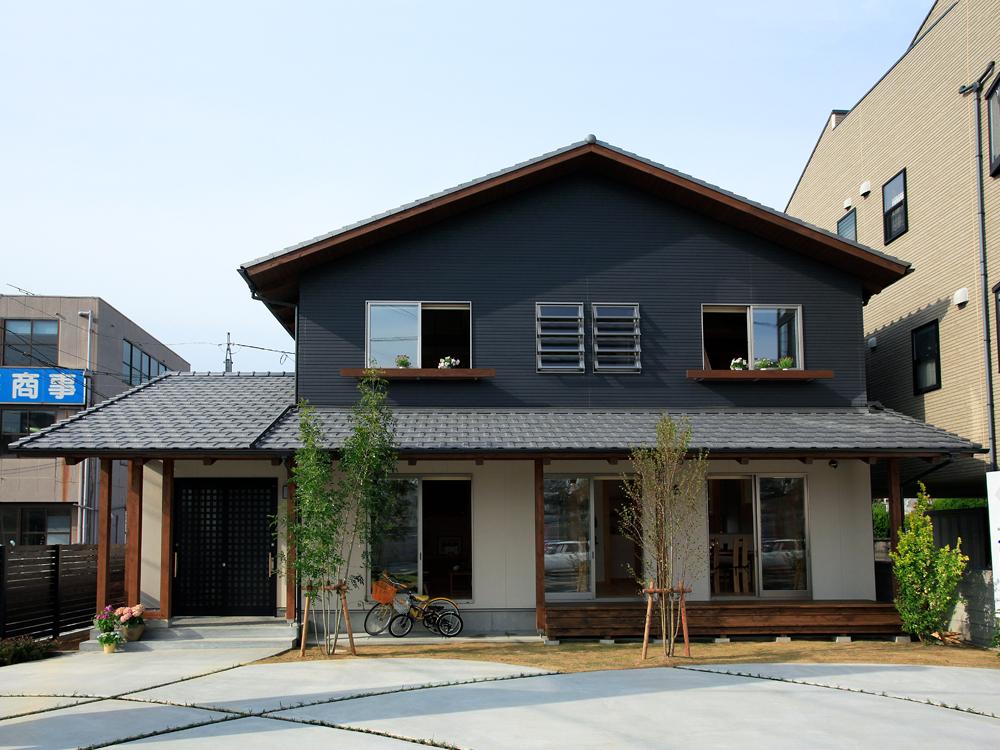 雨楽な家 小坂モデルハウス