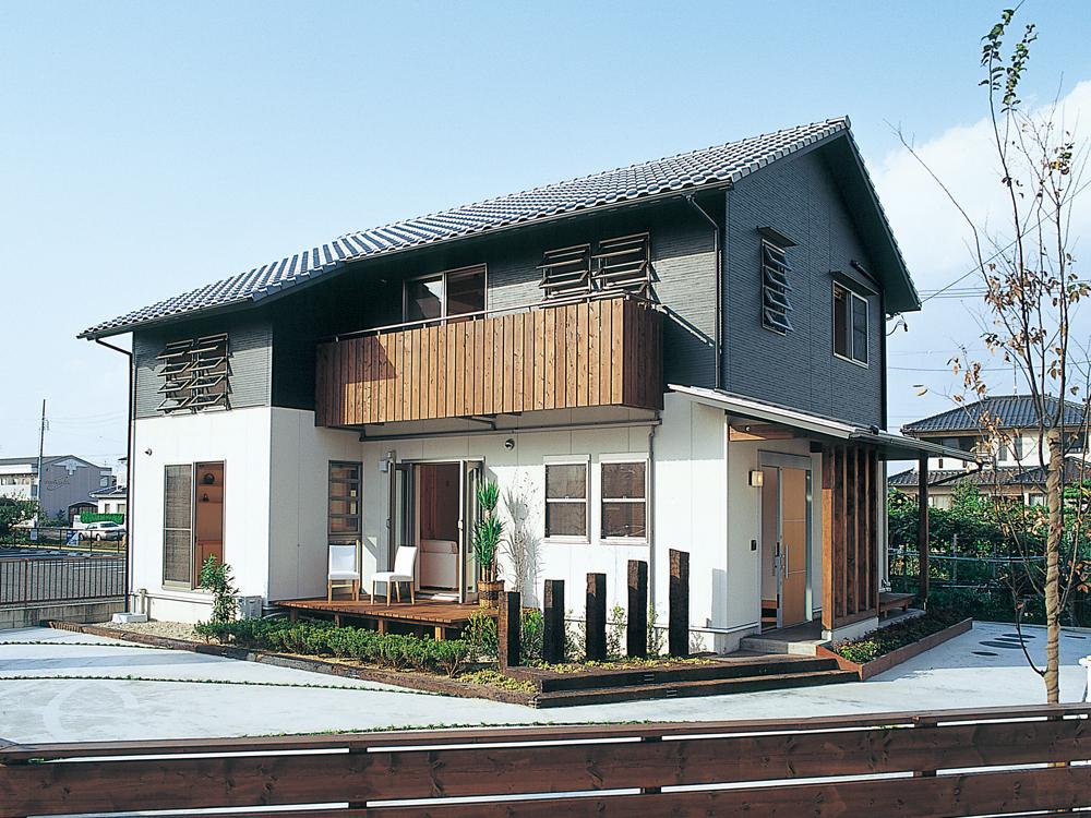 雨楽な家名古屋旧モデルハウス